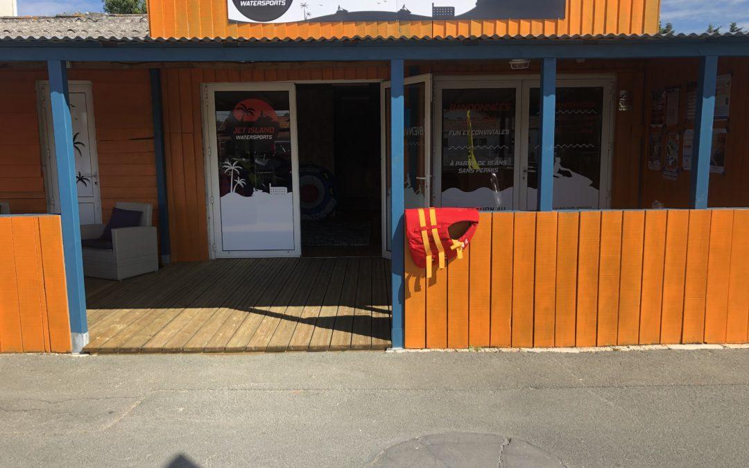 Inauguration de la Base de Jet Ski à Saint-Trojan-Les-Bains